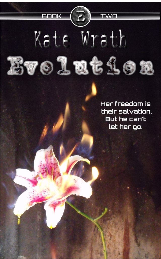 cover of Evolution by Kate Wrath